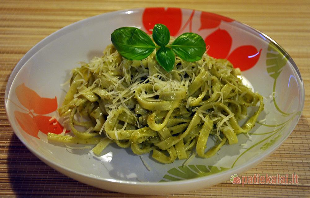 best service 32288 b8baa Makaronai su Pesto padažu - Patiekalai.lt - receptai, patiekalų ...